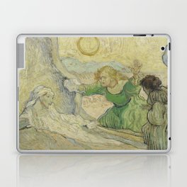 The Raising of Lazarus (after Rembrandt) Laptop & iPad Skin