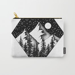 Night among the mountains Carry-All Pouch