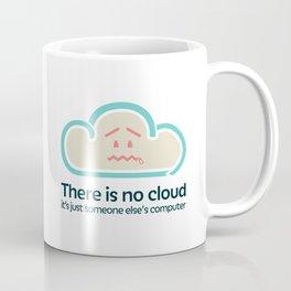 There Is No Cloud Coffee Mug