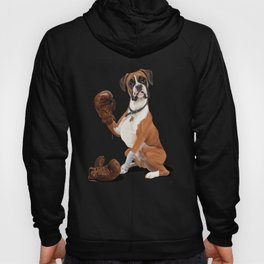 The Boxer (colour) Hoody