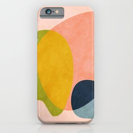 pink shape iPhone Case