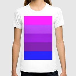 Transgender flag  by Jennifer Pellinen T-shirt