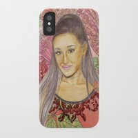 ariana grande iPhone & iPod Cases featuring Ariana II by Share_Shop