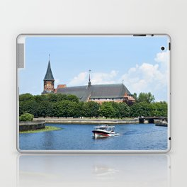 Place Fishing Village - ethnographic center and Cathedral. Kaliningrad Laptop & iPad Skin