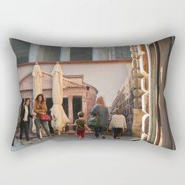 Pantheon of Rome Locals's View Rectangular Pillow