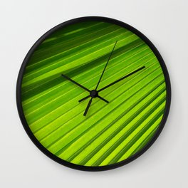 green light II Wall Clock