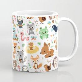 Woodland Animal Coffee Mug