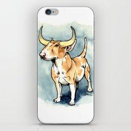 The Bull Terrier iPhone Skin