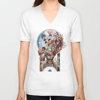 majora V-neck T-shirts featuring The song of Majora by Alejandra Vindas