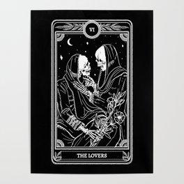 The Lovers Skeleton Poster
