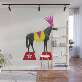 The Fantastic Animal Circus. Part 1 Wall Mural