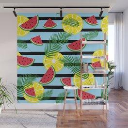 Fresh summer pattern Wall Mural