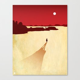 Red Dead Canvas Print