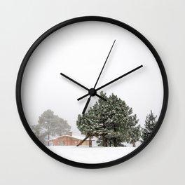 nostalgia en invierno  Wall Clock
