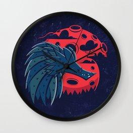 Mr. Wolf Wall Clock