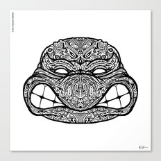 Teenage Mutante Lucha Turtles Canvas Print