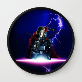 Thor God Of Thunder Wall Clock