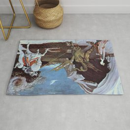 Paolo Uccello's St. George and the Dragon Rug