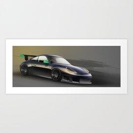 Porsche gt3r Art Print