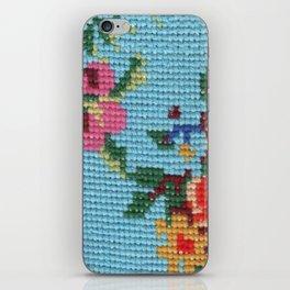 needlepoint iPhone Skin