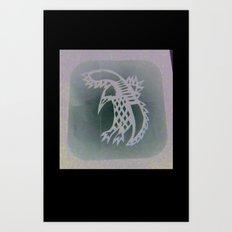 Bird Shadow Art Print