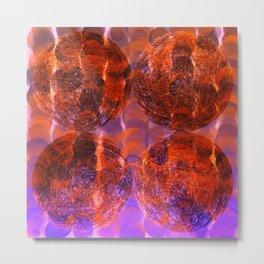 Coconut Lux Metal Print