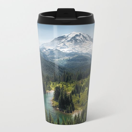 Mountain, Scenic, Eunice Lake 2016 Metal Travel Mug