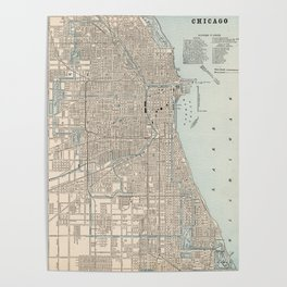 Chicago Map Posters | Society6 on cook county map, city mo map, city of san antonio sea world, northside chicago map, 21st ward map, chicago city street map, illinois map, city ny map, chicago city limits map, chicago neighborhood map, 1960s chicago map, city wi map, city md map, city of skyline, city nc map, downtown chicago map, city of arizona state, detailed chicago city map, distribution chicago map, california chicago map,