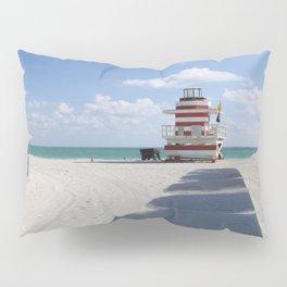 Lifeguard Station at South Beach Miami Pillow Sham