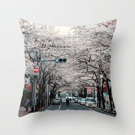 Tokyo 01 Throw Pillow