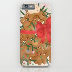 Merry Christmas from Gingerbread Men Slim Case iPhone 6s