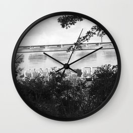 left there Wall Clock