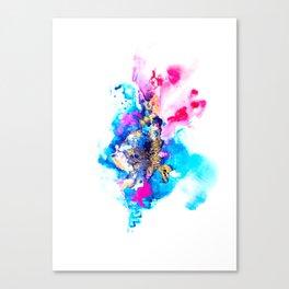 Burst Abstract Artwork Canvas Print