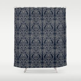 The Grand Salon, Midnight Shower Curtain