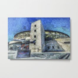 Besiktas Stadium Art Metal Print