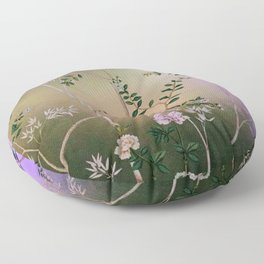 Chinoiserie Style Floor Pillow