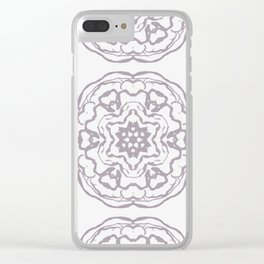 Rosettes Clear iPhone Case
