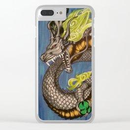 Spirit Dragon Clear iPhone Case