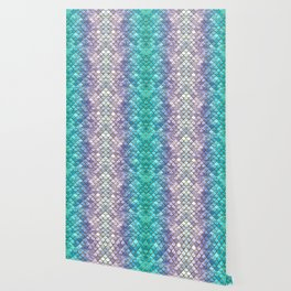 Pretty Mermaid Scales Wallpaper