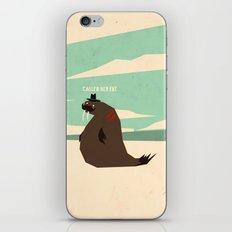 W is for walrus iPhone & iPod Skin