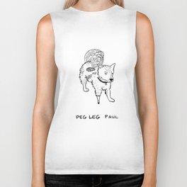 Peg leg Paul Biker Tank
