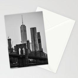Brooklyn Bridge 4 Stationery Cards