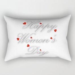 International womens day Rectangular Pillow