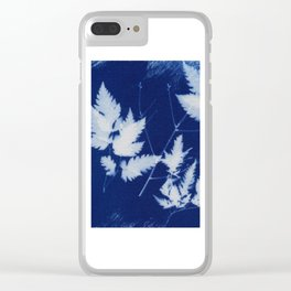Cyanotype No. 2 Clear iPhone Case