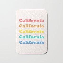 Retro California Bath Mat