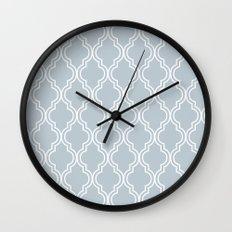 BlueGray Moroccan Wall Clock
