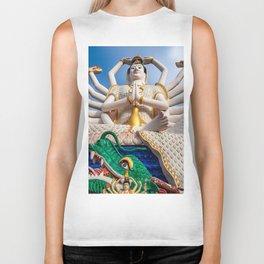Goddess of Compassion Biker Tank