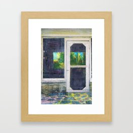 Florida Shotgun Shack Framed Art Print