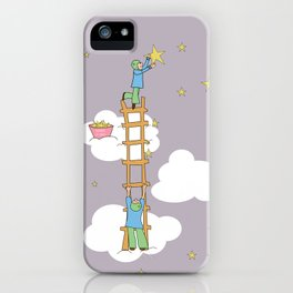 hanging the stars (pastel) iPhone Case