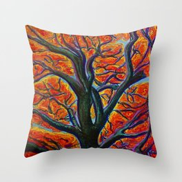 Heart of it All Throw Pillow